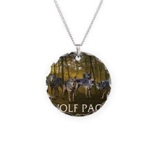 Eclipse Wolf Pack Necklace