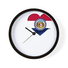 I Love Joplin -dk Wall Clock