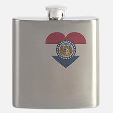 I Love Joplin -dk Flask