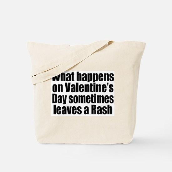 Love Heart Rose Tote Bag