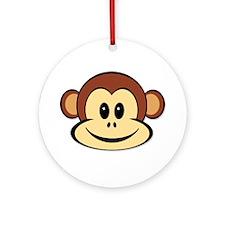 Lucky Monkey Ornament (Round)