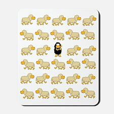 A Sheep with Attitude Mousepad