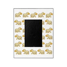 A Sheep with Attitude Picture Frame