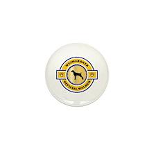 Weimaraner Walker Mini Button (10 pack)