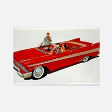 1957 Plymouth Belvedere Convertible Coupe Magnets