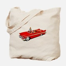 1957 Plymouth Belvedere Convertible Coupe Tote Bag