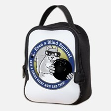 Bowling Blind Squirrel Neoprene Lunch Bag