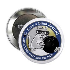 """Bowling Blind Squirrel 2.25"""" Button (10 pack)"""