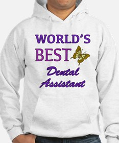 Worlds Best Dental Assistant (Butterfly) Hoodie