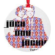 light jack and jackie Ornament