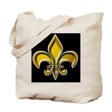 GOLD FDL on BLK 10x10_apparel Tote Bag