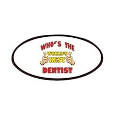 Thumbs Up Worlds Best Dentist Patches