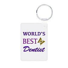 Worlds Best Dentist (Butterfly) Keychains