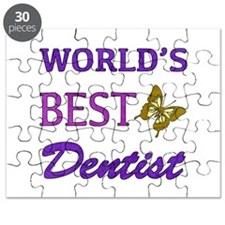 Worlds Best Dentist (Butterfly) Puzzle