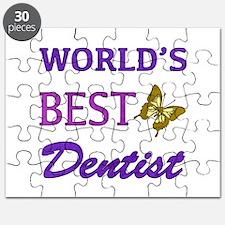 Worlds Best Dentist (Butterfly) Puzzle