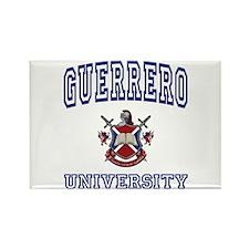 GUERRERO University Rectangle Magnet