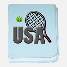 USA Tennis (2) baby blanket