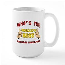 Thumbs Up Worlds Best Massage Therapist Mug