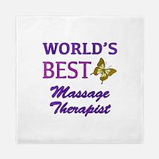 Worlds Best Massage Therapist (Butterfly) Queen Du