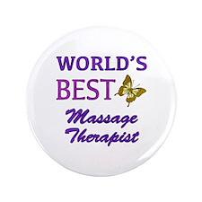 "Worlds Best Massage Therapist (Butterfly) 3.5"" But"