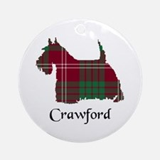 Terrier - Crawford Ornament (Round)