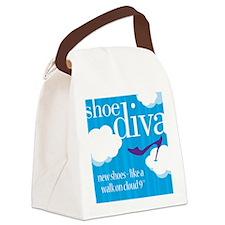 DivaBagHRCloudNine Canvas Lunch Bag