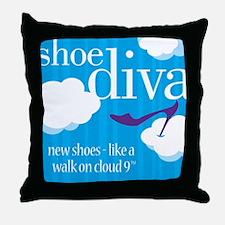 DivaBagHRCloudNine Throw Pillow