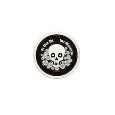 Dia De Los Muertos Mini Button