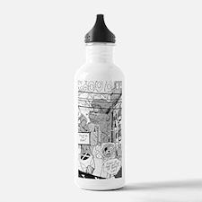 BuddyMeetsShokBot Water Bottle
