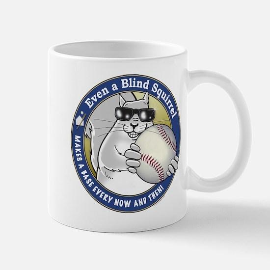 Baseball Blind Squirrel Mug