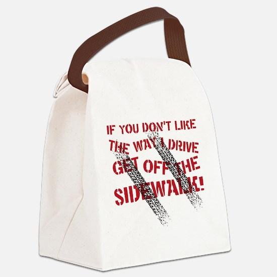 sidewalk Canvas Lunch Bag