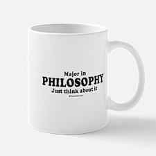 Major in Philosophy (college humor) Mug