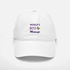 Worlds Best Midwife (Butterfly) Baseball Baseball Cap