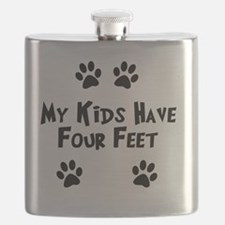 My-Kids-Have-Four-Feet Flask