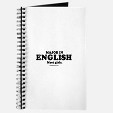 Major in English (college humor) Journal