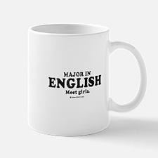 Major in English (college humor) Mug