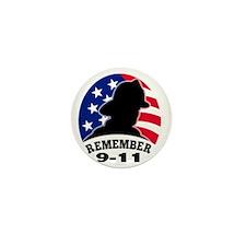 Remeber 9-11 Mini Button