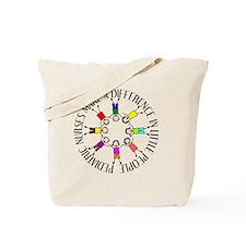 pediatric nurses circle WITH KIDS Tote Bag
