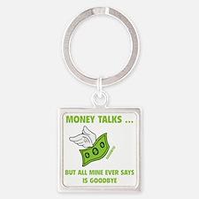 moneyGoodbye1D Square Keychain