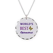 Worlds Best Optometrist (Butterfly) Necklace