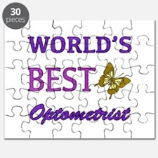 Worlds Best Optometrist (Butterfly) Puzzle