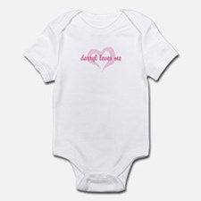 """darryl loves me"" Infant Bodysuit"