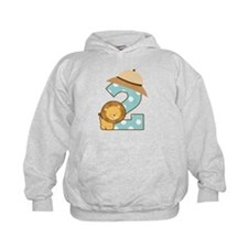 2nd Birthday Party Balloon Hoodie