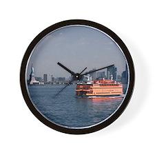 (14) Staten Island Ferry Wall Clock