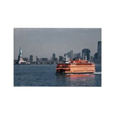 (14) Staten Island Ferry Rectangle Magnet