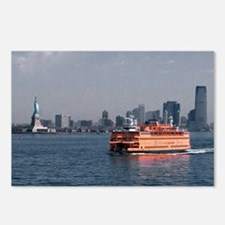 (14) Staten Island Ferry Postcards (Package of 8)