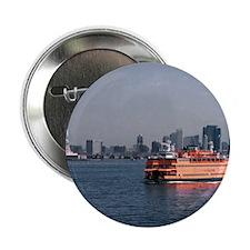 """(14) Staten Island Ferry 2.25"""" Button"""