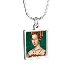16X20-Small-Poster-Parr Silver Square Necklace