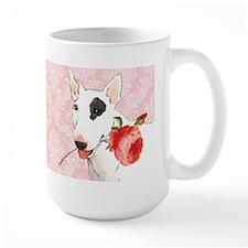 Bull Terrier Rose Mug