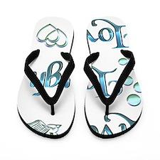 Live Laugh Love Flip Flops